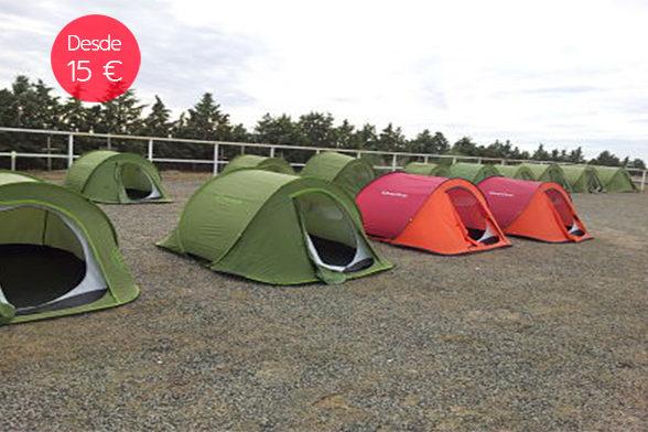 acampada libre despedidas soltera madrid