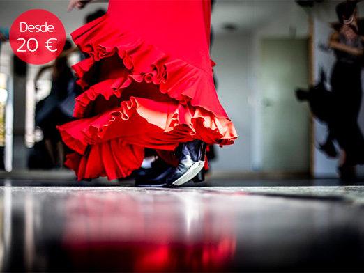 clase flamenco despedida soltera madrid