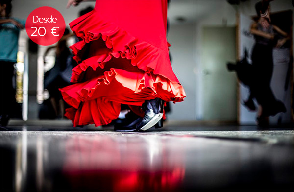 clase flamenco despedida soltera madrid