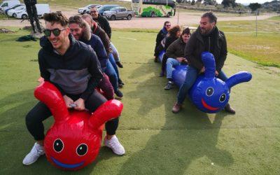 carrera de gusanos o dragones