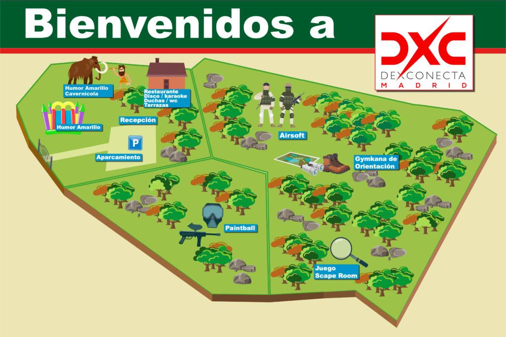 Finca Ocius Park para despedidas de soltero y soltera en Madrid