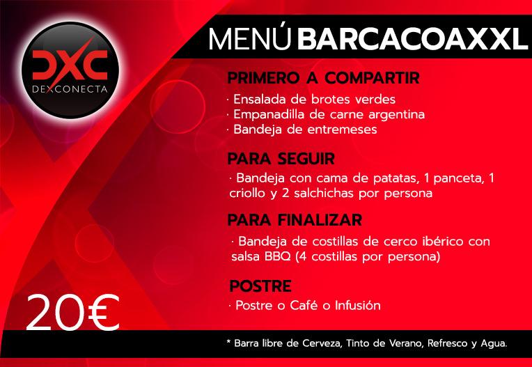 Menú Barbacoa XXL