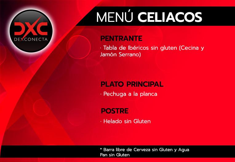 Menú Celiacos