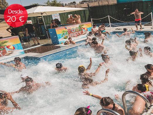 pool party despedidas soltero madrid