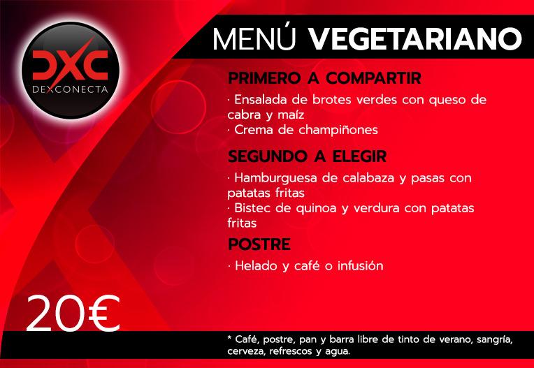 menu humor amarillo norte vegetariano