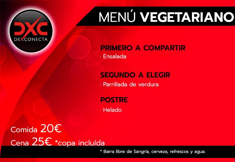 menu vegetariano humor amarillo sur