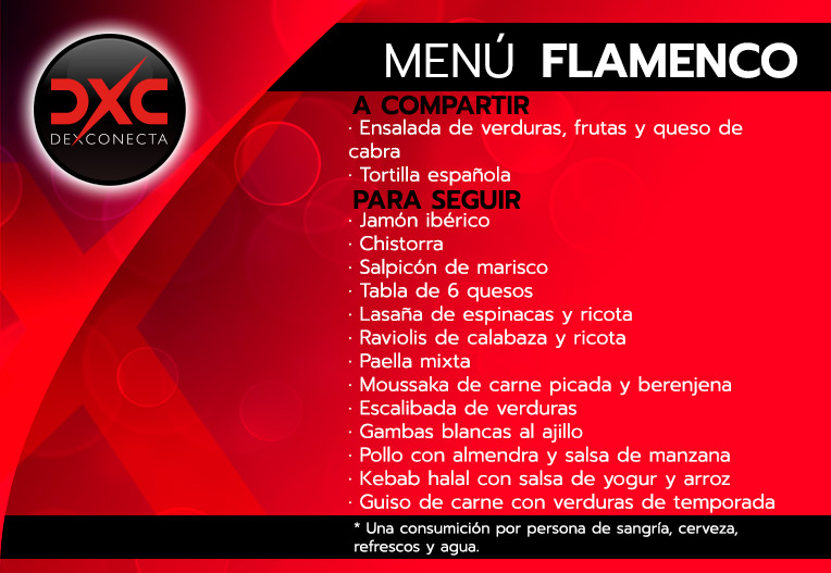 menu-flamenco despedidas soltera madrid