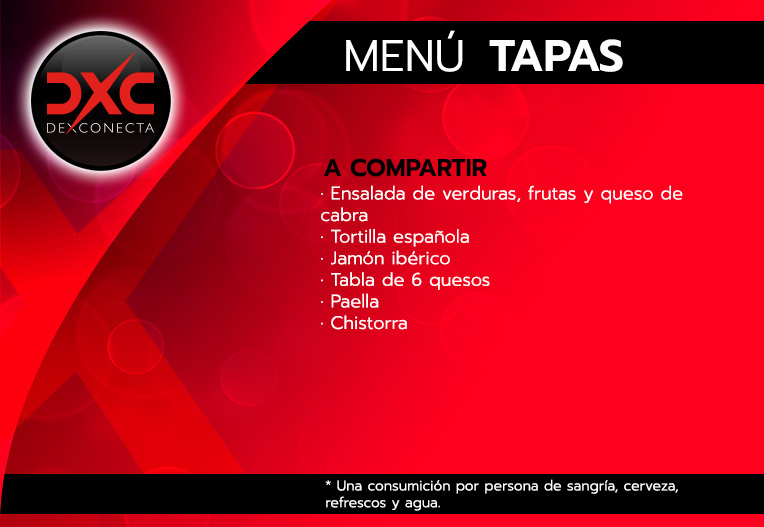 tapas menu restaurante flamenco despedidas soltera madrid