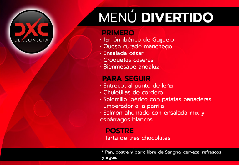 despedidas soltera madrid menu erotico