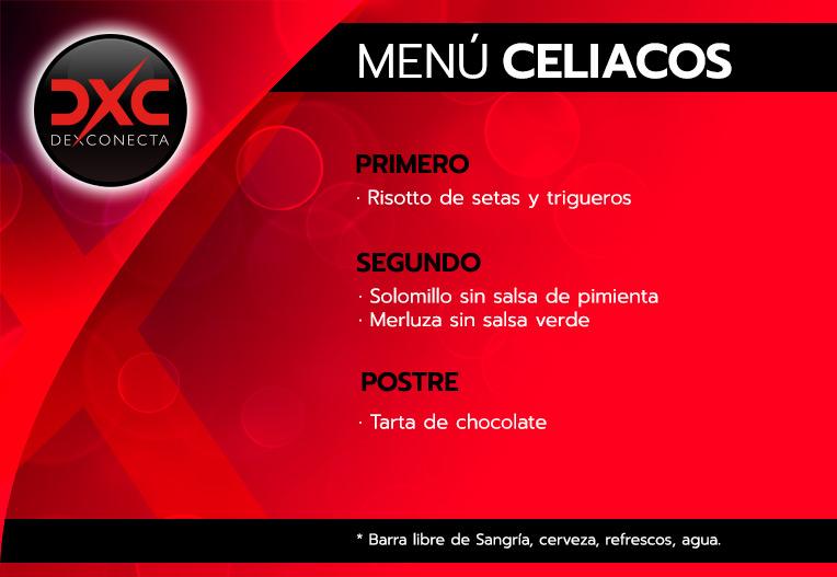 Menú Celiaco
