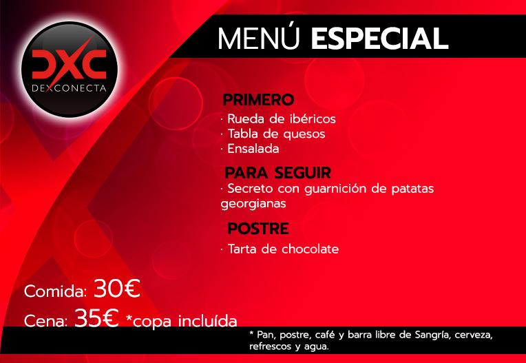 menu especial despedidas de soltera madrid