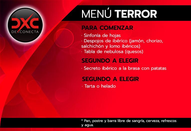 menu terror despedidas soltera madrid