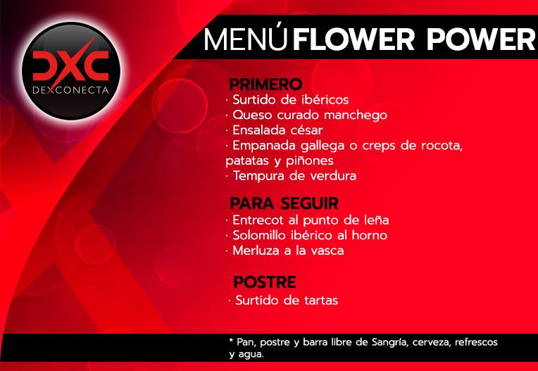 menu restaurante-flower-power despedidas de soltera madrid